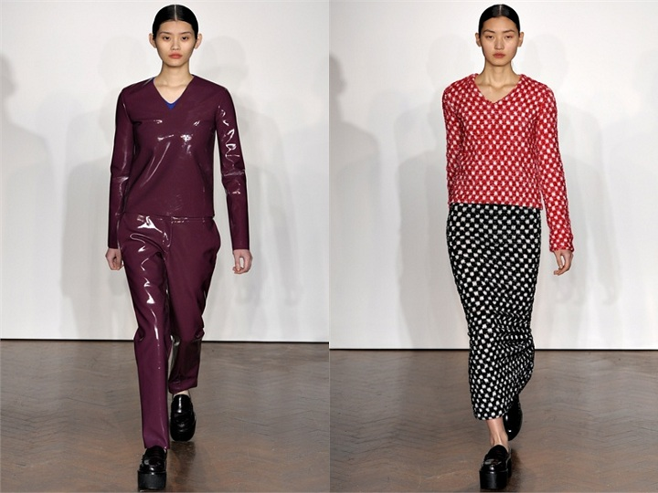 Asian models blog london fashion week fall 2012 sunday for Koch xiao wang