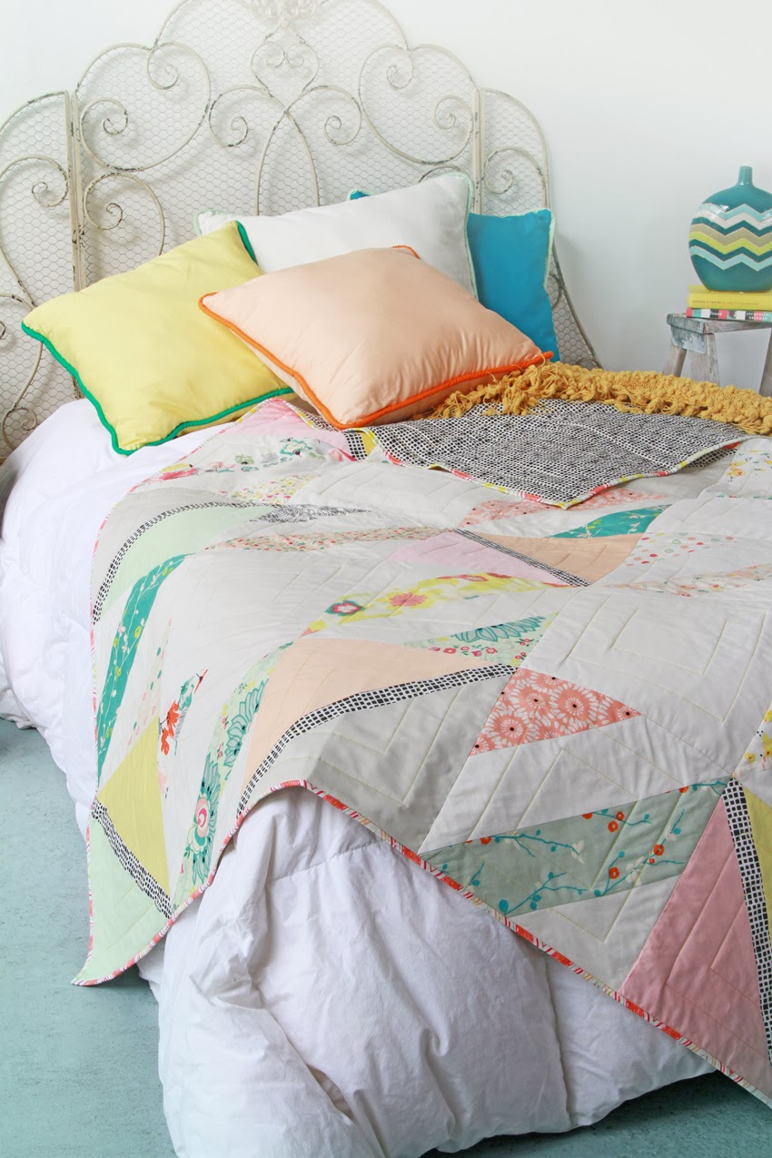 35 More Free Modern Quilt Patterns - wow i like that : free quilting - Adamdwight.com