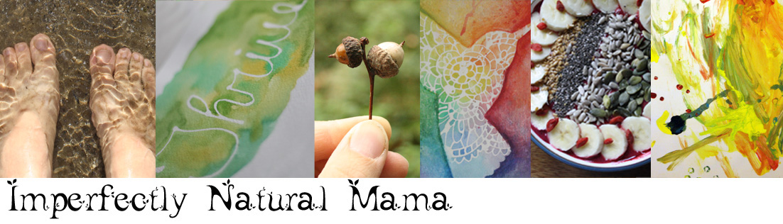 Imperfectly natural mama