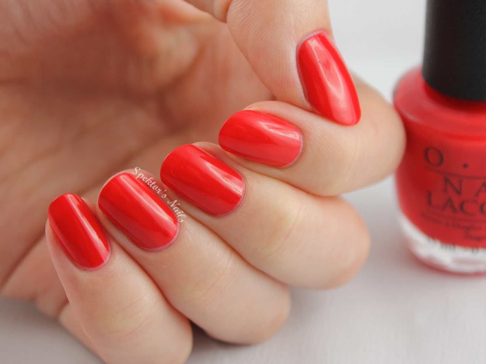 Coca-Cola by OPI: Icons of Happiness Coca-Cola Red