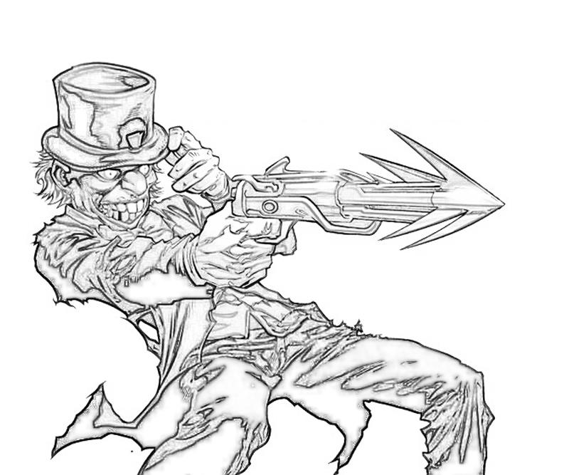mad hatter coloring pages - photo#35
