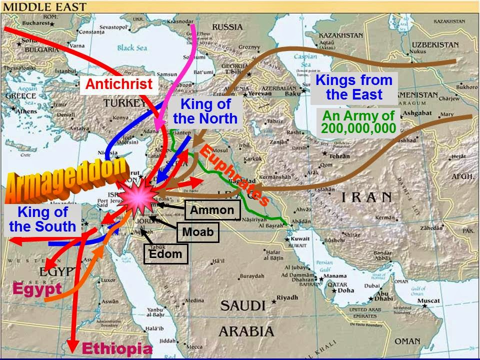 Image result for valley of megiddo in the bible map