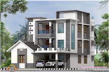 3 Floor House Elevation Designs