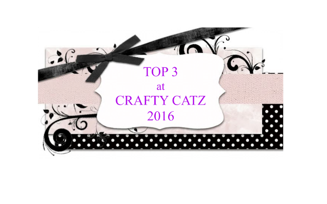 Top 3 at Crafty Catz Challenge