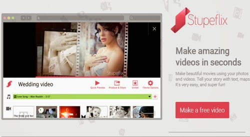 Membuat Video Slideshow Foto Online