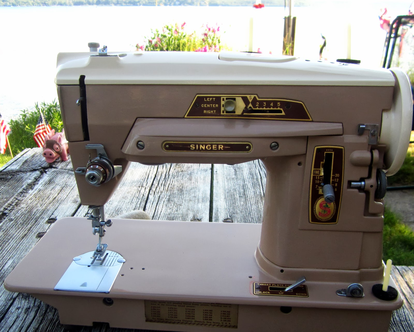 singer sewing machine 403a