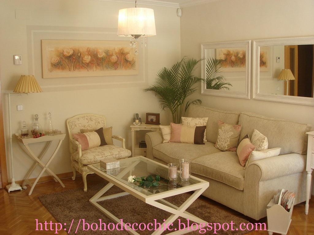 La casa de natacha boho deco chic - Decoracion de salones estilo romantico ...
