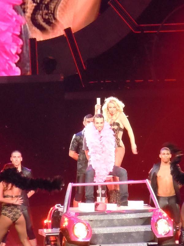 Britney Spears lap dance Femme Fatale