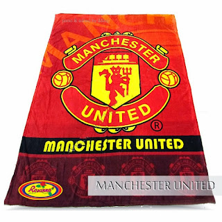 Grosir Selimut Rosanna Soft Panel Blanket Machester United