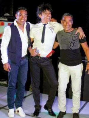El futbolista Marco Fabián celebra sus 25 años con el show de Adrián Uribe