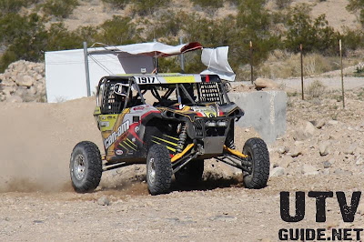 Lazer Star equipped Can-Am Maverick at The Mint 400