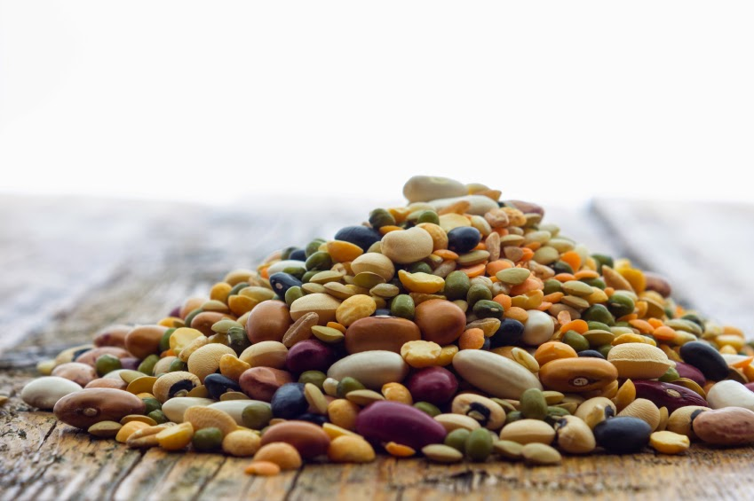 Feijão, ervilha e lentilha