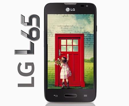Fitur, dan Spesifikasi LG L65 D280