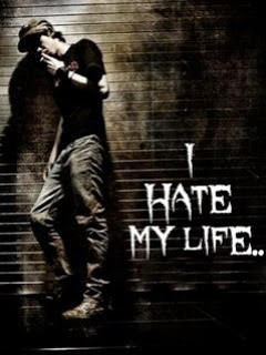 I Hate My Life 240x320 Mobile Wallpaper #12