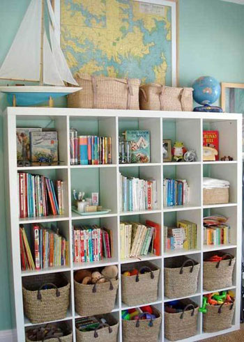Kids 39 storage and organization ideas part 1 design dazzle for Shelving for kids room