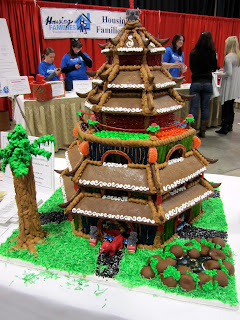 Gingerbread House Competition Entry