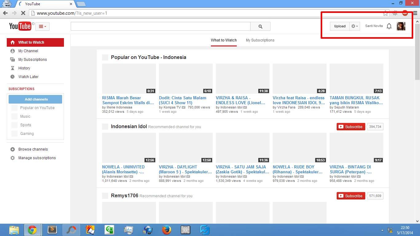 Cara Membuat Akun Youtube Sendiri 2014 gambar 3