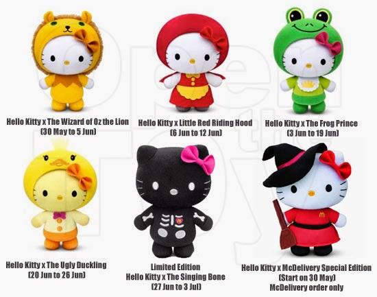 Hello Kitty, Śpiewająca Kość, Singing Bone, Baśnie braci Grimm, Mateusz Świstak, Baśnie na warsztacie, Singapur, McDonald's