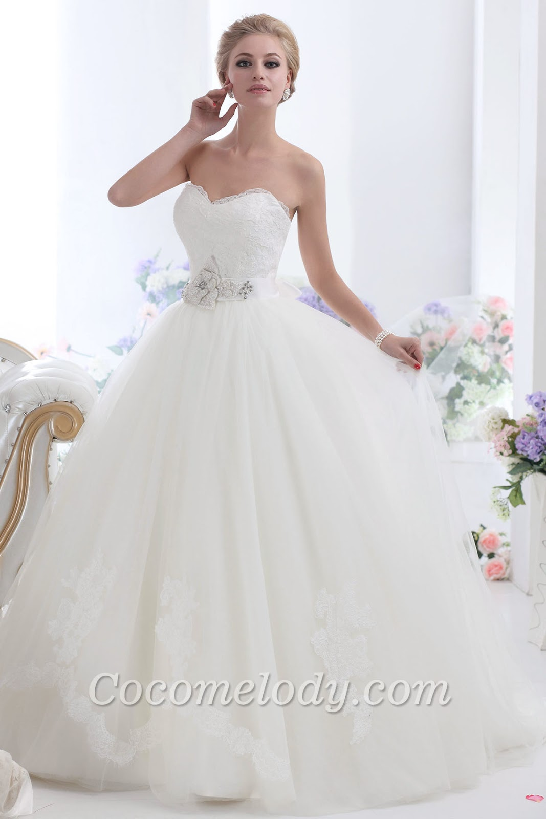 Wedding dress for your country wedding.