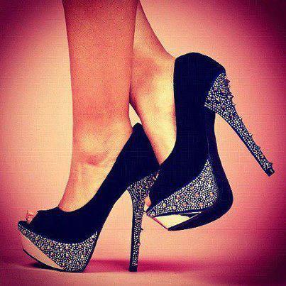 Zapatos de moda brillante | Lentejuelas con estilo
