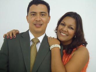 Meu Pastor José Roberto e sua esposa Sandra Monteiro