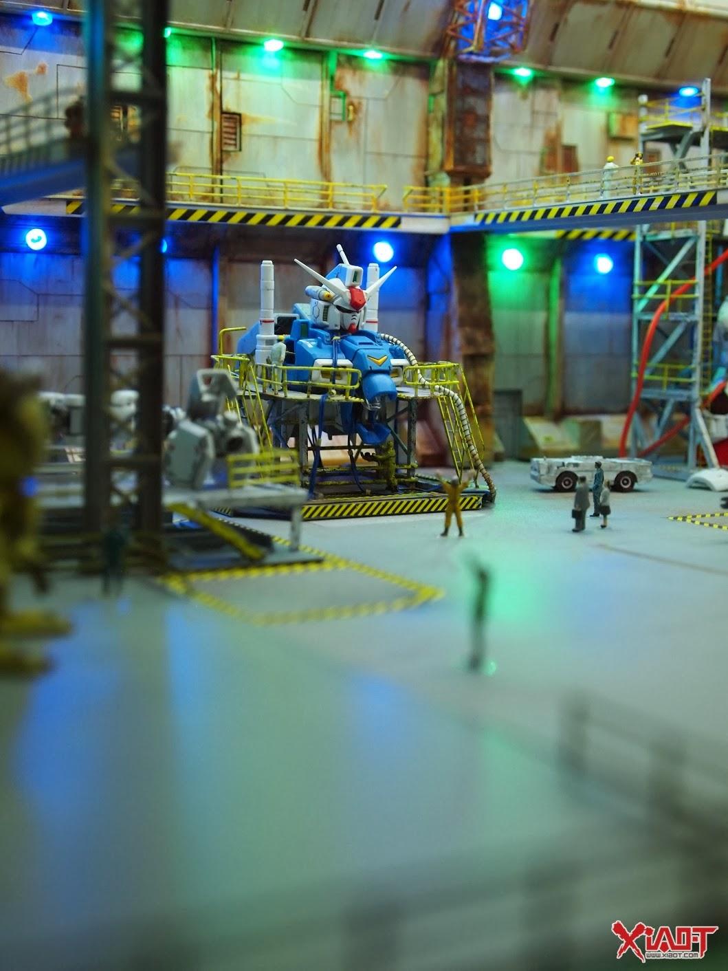 how to make gundam diorama base