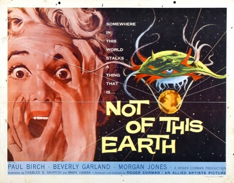 Poster - Not of This Earth (1957)