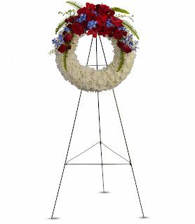 Teleflora Reflections of Glory Sympathy Wreath