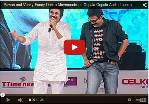 Pawan and Venky Funny Dance Movements