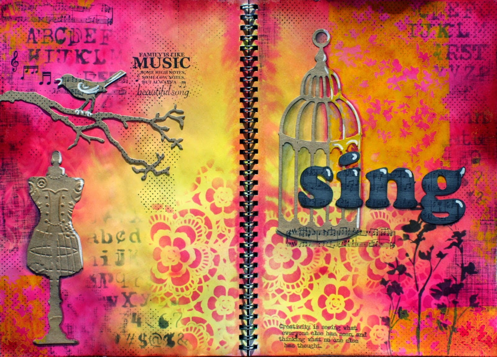 Sing Journal Page