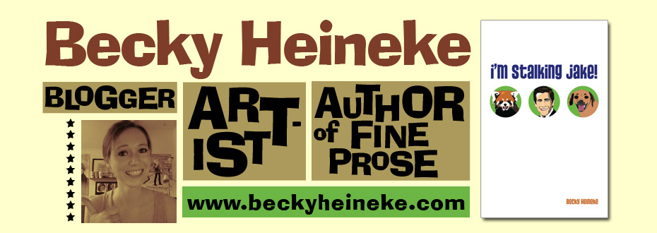 Becky Heineke | Author of I'm Stalking Jake! (The Book!)