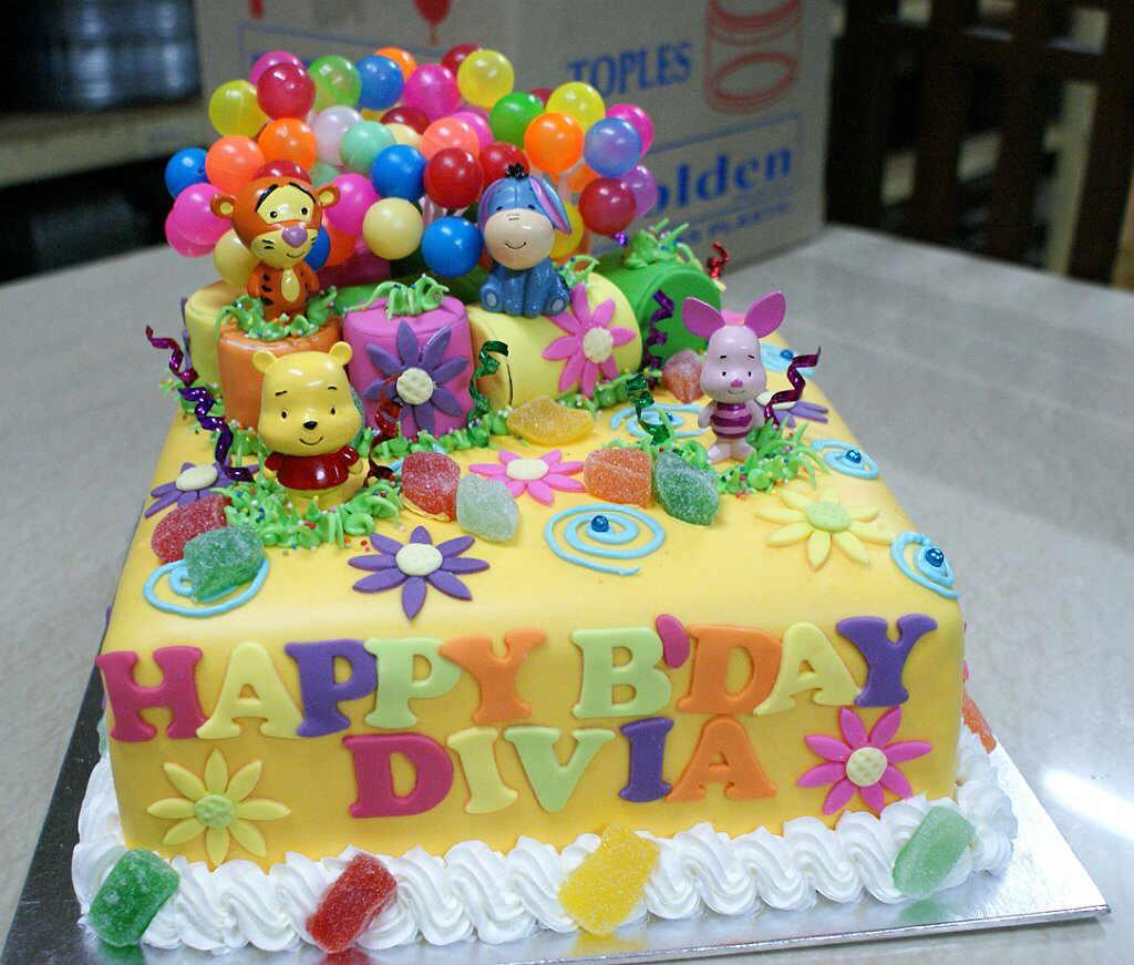 Kue Ulang Tahun Anak Perempuan