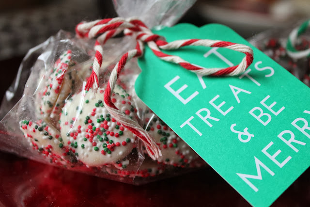 Homemade Christmas nonpareils