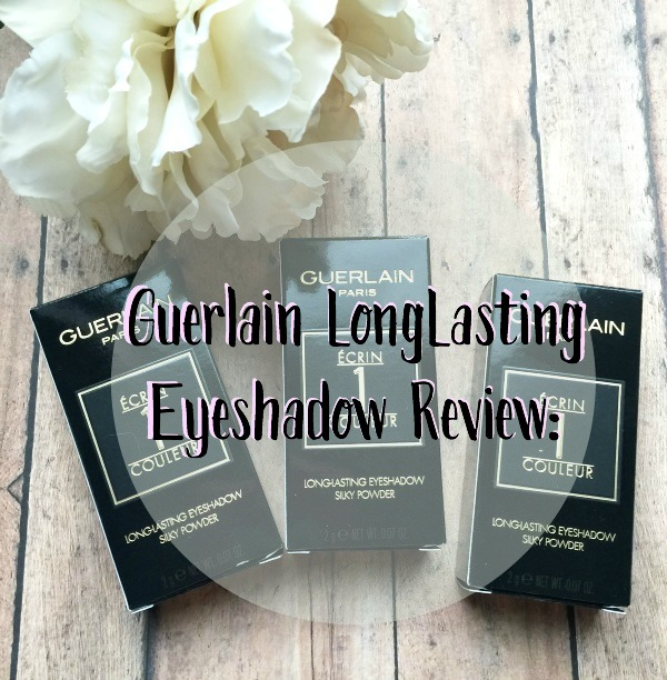 Guerlain Mono Silk Shadows Review