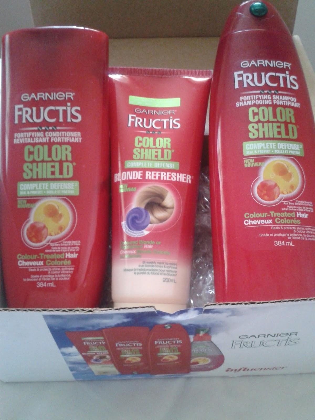 The Beauty Beat Garnier Fructis Colour Shield Review