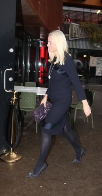 Princess Mette-Marit Attended The Conference Of The HIV15