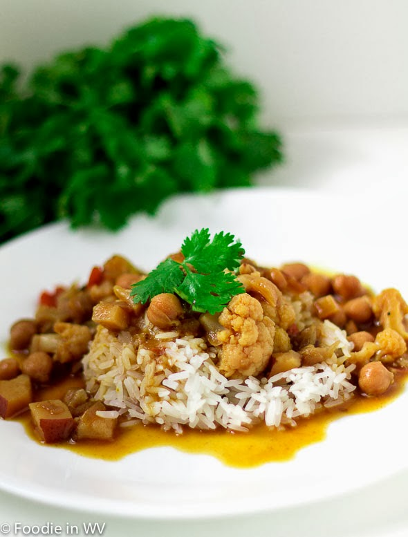 Indian Chickpea and Vegetable Stew