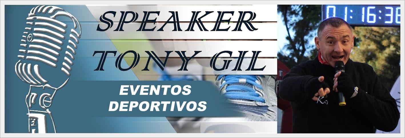 SPEAKER TONY GIL