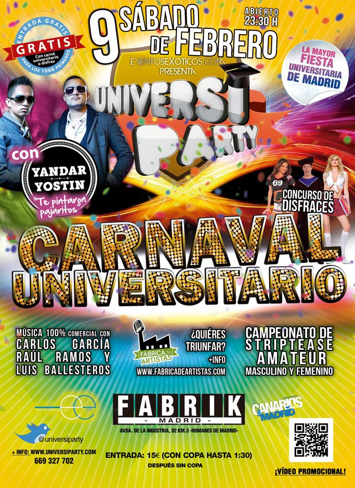 nosolometro university party carnaval univeritario 2013
