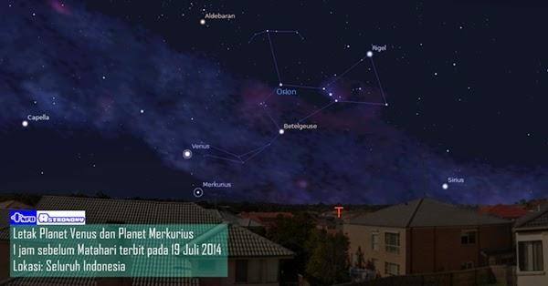 Setelah Sahur, Yuk Amati Planet Venus dan Merkurius