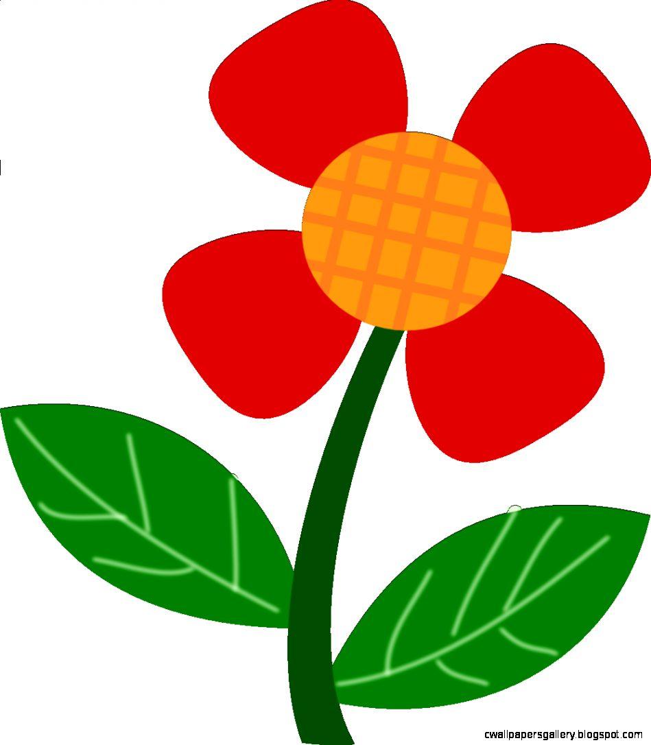 Simple Flower Clipart 93993  WEBNODE