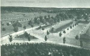 Campo di Sennelager baracche per gli uomini