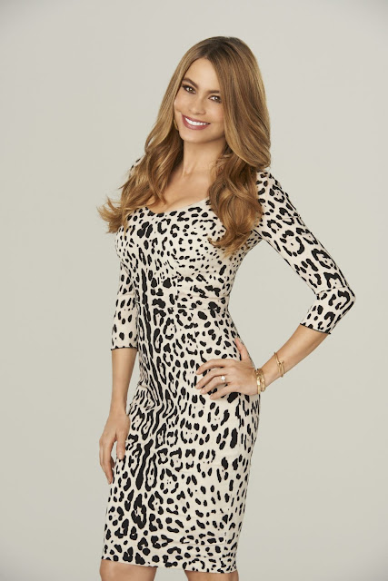 Actress, Model @ Sofia Vergara Modern family season six HQ promos