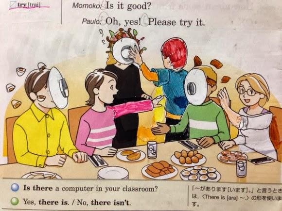 Coretan Kreatif anak Jepang