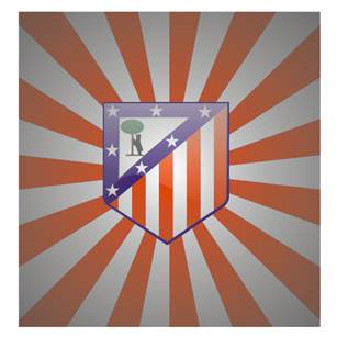 logo klub Atletico Madrid