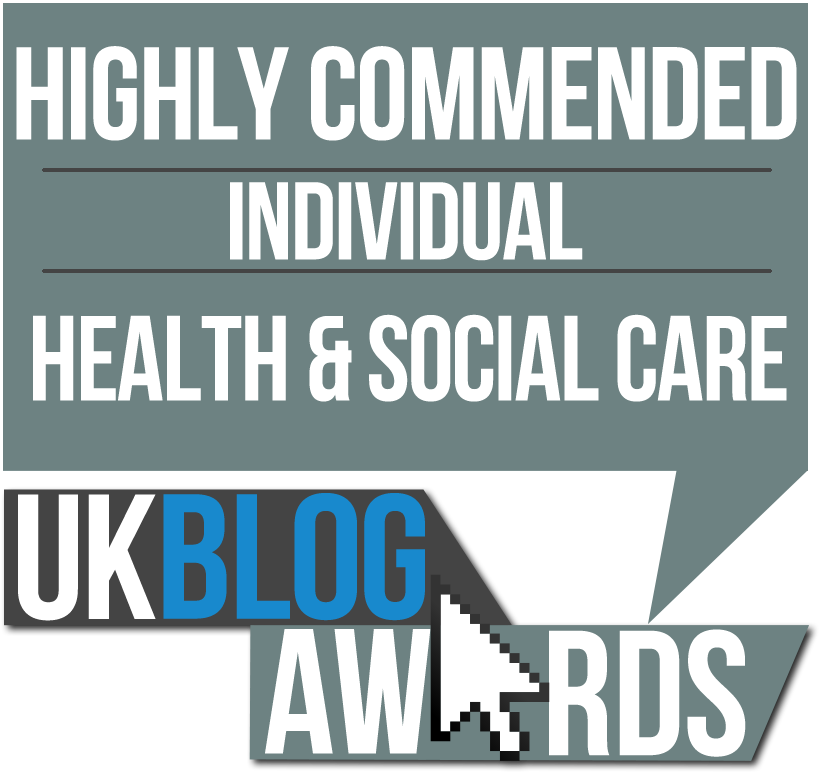 Highly Commended UK Blog Award Finalist