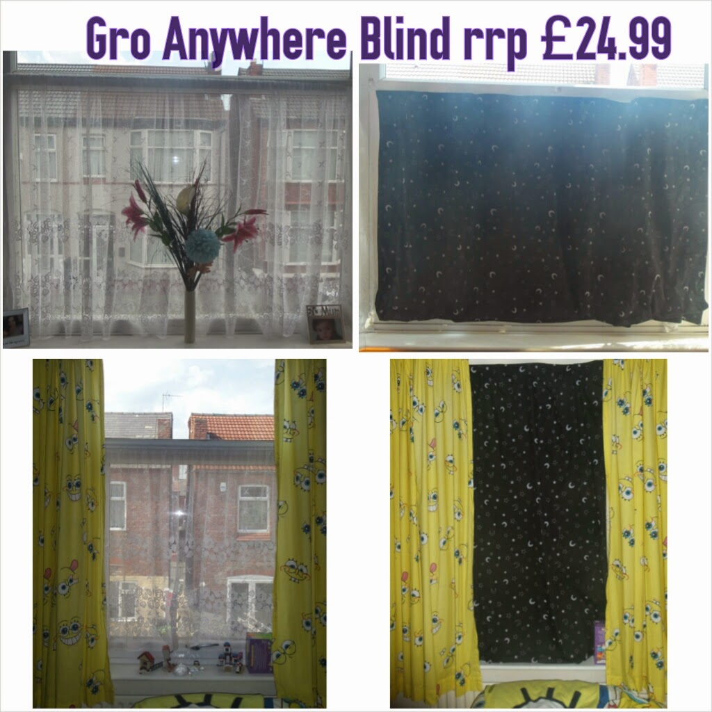 vertical, horizontal, gro anywhere blind fit
