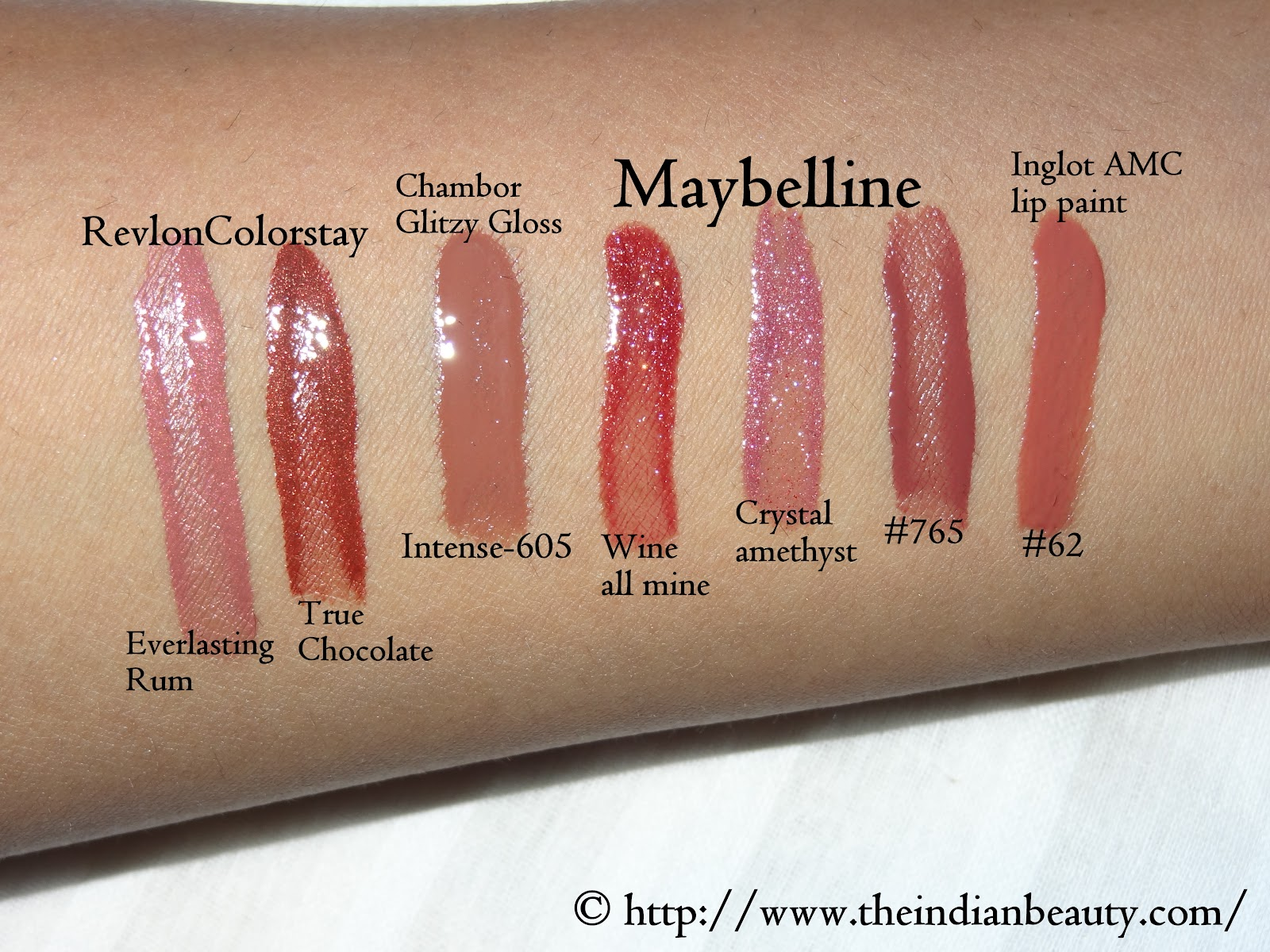 Revlon Mystic Mauve Lipstick Lipstick swatchesRevlon Mystic Mauve Lipstick