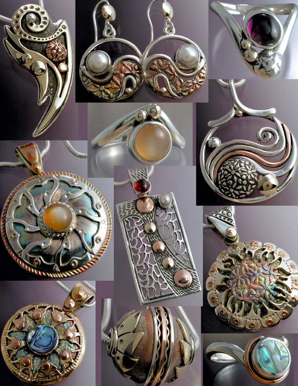 Mixed Metal Jewels: Making Mixed Metal Jewelry for Mendocino