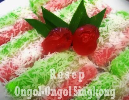Resep Ongol-ongol Singkong